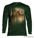 Golden Moment Deer - 45-6167 - Adult Long Sleeve T-shirt