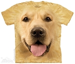 Golden Retriever Portrait -10-4023 - Adult Tshirt