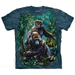 Gorilla Jungle - 10-5912 - Adult Tshirt