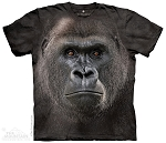 Big Face Lowland Gorilla - 43-7056 - Adult Tshirt