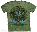 Guitar Tree - 10-3199 - Adult Tshirt