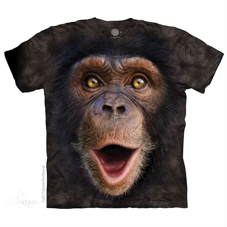 Happy Chimp - 15-5962 - Youth Tshirt