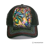 Happy Wolf - Dean Russo - 94-4061 - Baseball Cap