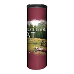 The Trail Looked Flat On The Map - 59-6316 - Stainless Steel Barista Travel Mug