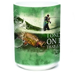 I Only Fish On Days That End In Y - 57-6312-0901 - Coffee Mug