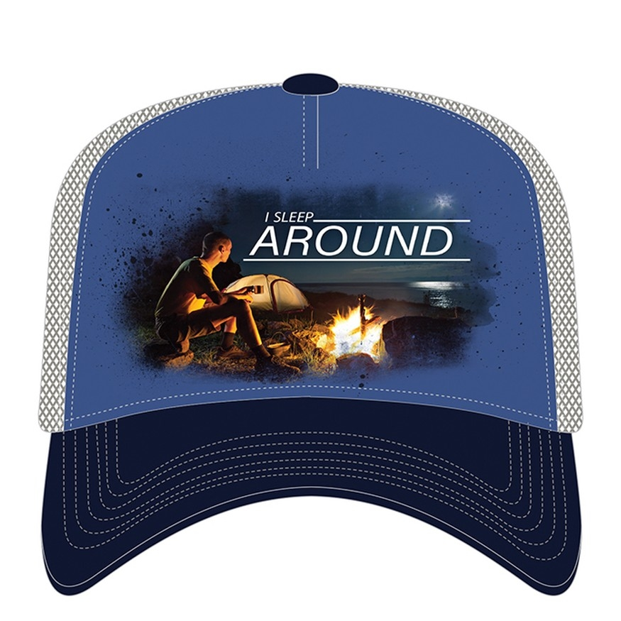 I Sleep Around - 76-6315 - Trucker Hat