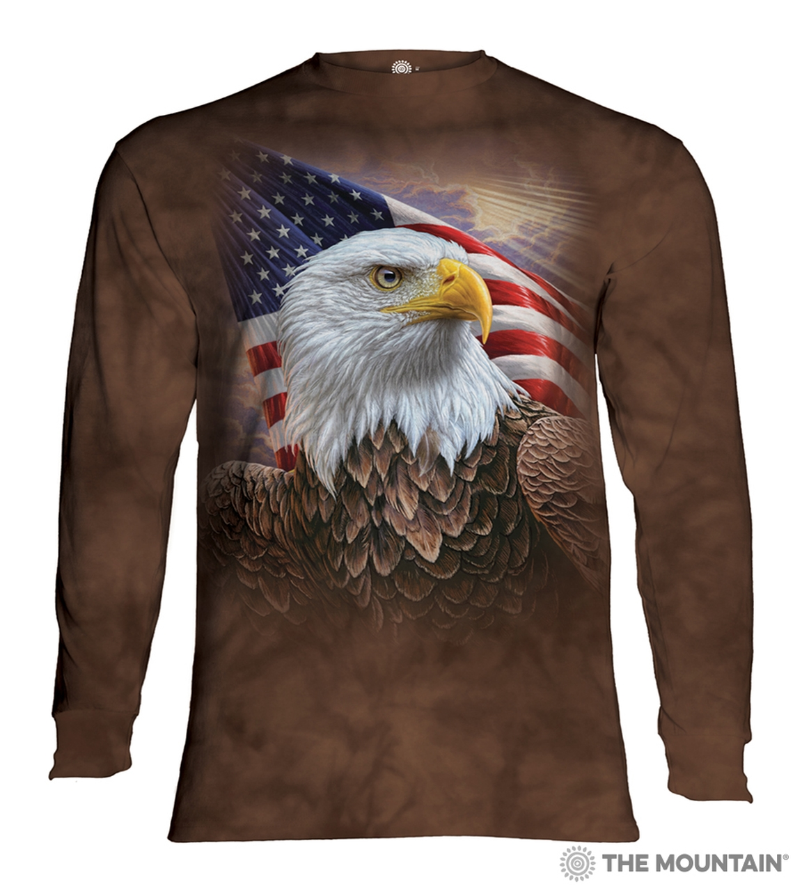 Independence Eagle - 45-4848 - Adult Long Sleeve T-shirt