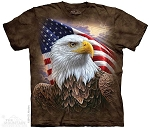 Independence Eagle - 10-4848 - Adult Tshirt