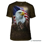 Independence Eagle - 54-4848 - Men's Triblend T-shirt