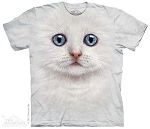 Ivory Kitten Face - 15-3504 - Youth Tshirt