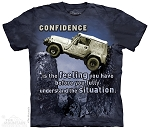 Confidence...Is The Feeling You Have Before You Fully Understand The Situation - 10-4906 - Adult  T-shirt