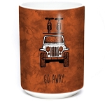 Go Away Jeep - 57-6367-0901 - Coffee Mug