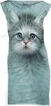 Blue Eyed Kitten - Ladies Mini Dress