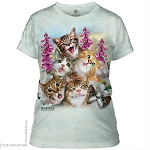 Kitten Selfie - 28-4988 - Ladies Fitted Tee