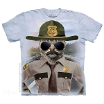 Kitten Trooper - 10-5952 - Adult Tshirt