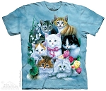 Kittens - 10-1172 - Adult Tshirt
