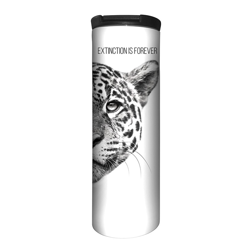 Leopard Extinction Is Forever - 59-5556 - Stainless Steel Barista Travel Mug