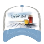 Life Is Brewtiful - 76-6365 - Trucker Hat