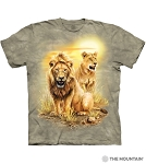Lion Pair - 10-6317 - Adult Tshirt