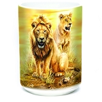 Lion Pair - 57-6317-0901 - Coffee Mug