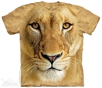 Big Face Lioness - 43-7057 - Adult Tshirt
