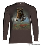 Lucky Fishing Hole - 45-6165 - Adult Long Sleeve T-shirt