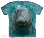 Big Face Manatee - 15-8416 - Youth Tshirt