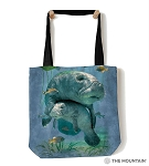 Manatees Collage - 97-5903 - Everyday Tote