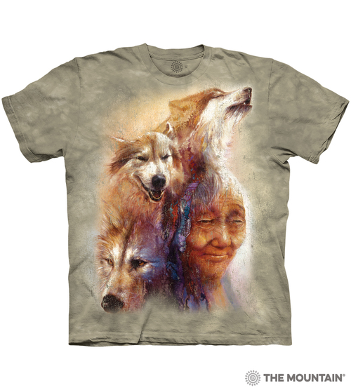 Medicine Woman - 10-6408 - Adult Tshirt - Native American