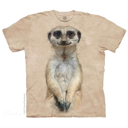 Meerkat Portrait - 15-5961 - Youth Tshirt