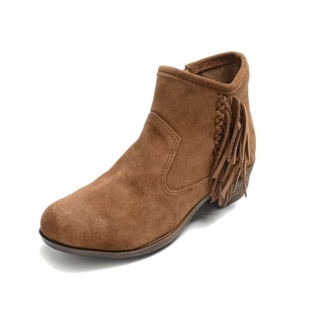 Minnetonka Moccasins 1523 - Women's Blake Boot - Dusty Brown Suede