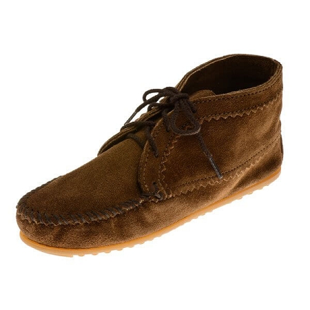 Minnetonka Moccasins 273 - Women's Ankle Boot - Dusty Brown Suede
