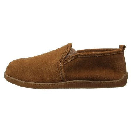 2761ad6d6ff12 ... Men s Pile Lined Romeo Slipper - Brown Suede. Tap to expand. Minnetonka  Moccasins 3922