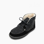 Minnetonka Moccasins 40140 - Women's Torrey - Pile Lined Boot Slipper - Black