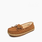 Minnetonka Moccasins 40152 - Women's Tilia - Brown - Moccasins Slipper