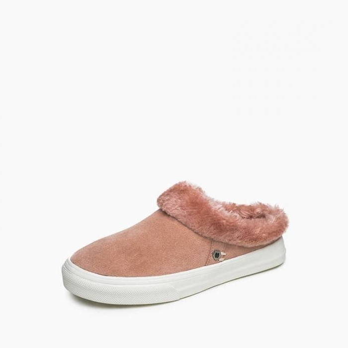 Minnetonka Moccasins 40467 - Women's Windy - Blush - Moccasins Slipper
