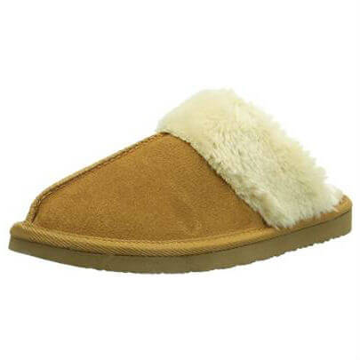 Minnetonka Moccasins 40881 - Women's Chesney Scuff - Cinnamon
