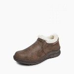 Minnetonka Moccasins 69503 - Women's Erie - Fleece Lined Ankle Boot - Brown
