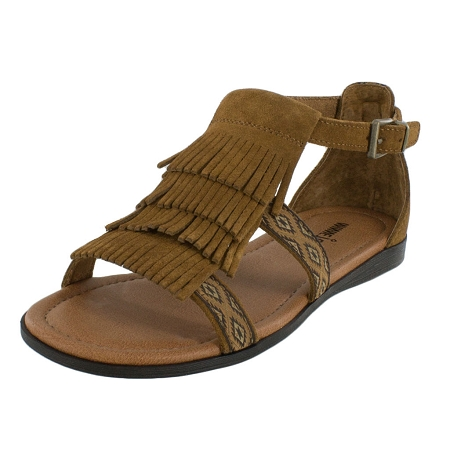 Minnetonka Moccasins 71302 | Women's Dusty Brown Maui Sandal