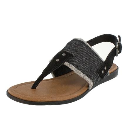 Minnetonka Moccasins 71354 - Women s Panama Sandal - Black 630a1d73c