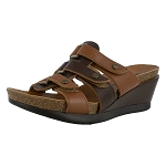 minnetonka moccasins 74501 chocolate and cognac tia sandal