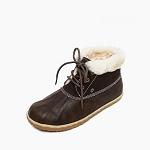 Minnetonka Moccasins 87302 - Women's Tega - Dark Brown - Ankle Boot