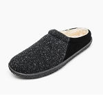 Minnetonka Moccasins 40130 - Women's Tahoe - Pile Lined Slipper - Black