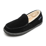 Minnetonka Moccasins 40120 - Women's Tempe - Pile Lined Slipper - Black