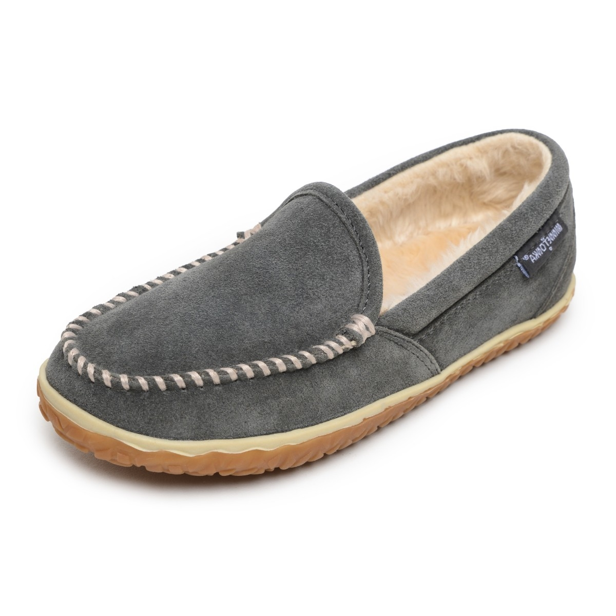 Minnetonka Moccasins 40125 - Women's Tempe - Pile Lined Slipper - Grey