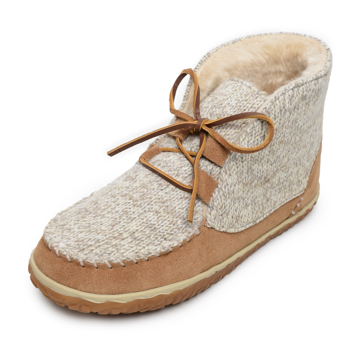 Minnetonka Moccasins 40141 - Women's Torrey - Pile Lined Boot Slipper - Cinnamon