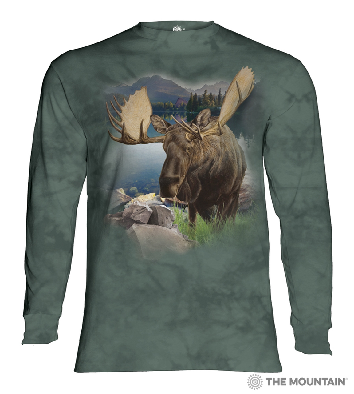 Monarch Of The Forest - 45-6168 - Adult Long Sleeve T-shirt