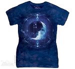 Moon Face - Ladies Fitted Tee