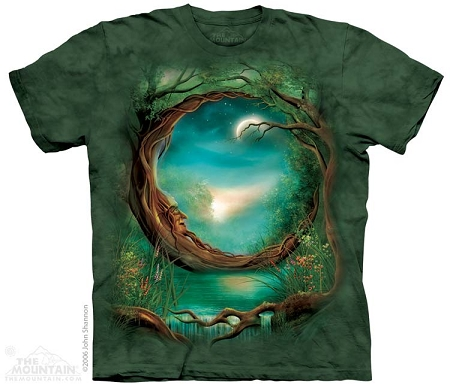 Moon Tree - 10-1250 - Adult Tshirt