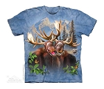 Moose Selfie - 15-4980 - Youth Tshirt